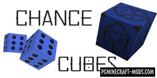 Chance Cubes - New Lucky Blocks Mod For 1.16.5, 1.12.2
