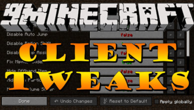 client tweaks mod 1 17 1 1 16 5 fixing your minecraft experience