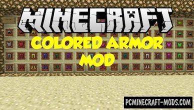 colorful armor decor mod for minecraft 1 17 1 1 16 5 1 14 4 1 12 2