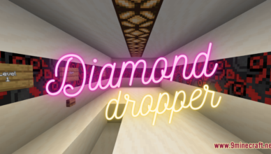 diamond dropper map 1 17 1 for minecraft