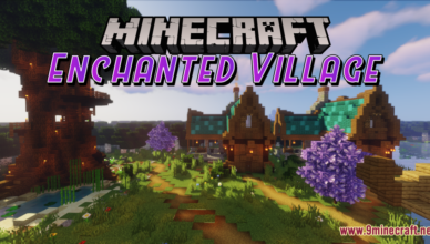 enchanted village map 1 17 1 for minecraft