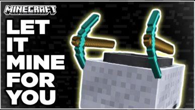 gravel miner mod 1 17 1 1 16 5 let it mine for you