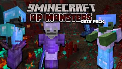harder hostile mobs data pack 1 17 1 1 16 5 strong crazy monsters