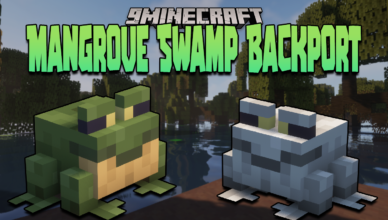mangrove swamp backport mod 1 16 5 swamp biomes with unique creatures