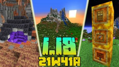 minecraft 1 18 snapshot 21w41a new cube map