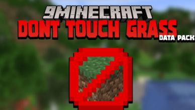 minecraft but dont touch the grass data pack 1 17 1 1 16 5 instant death challenge