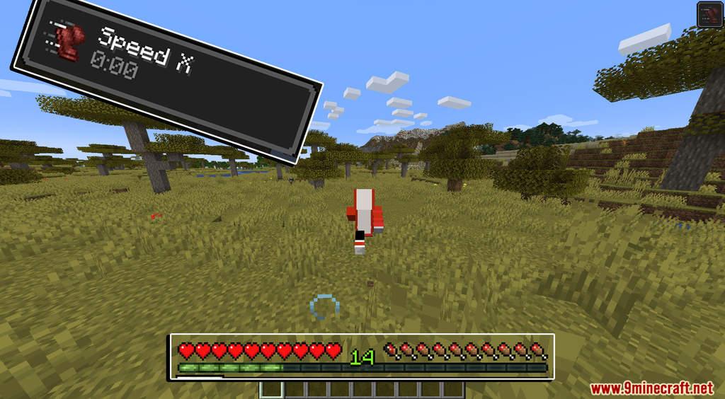 Minecraft But XP Equals Speed Data Pack Screenshots (4)