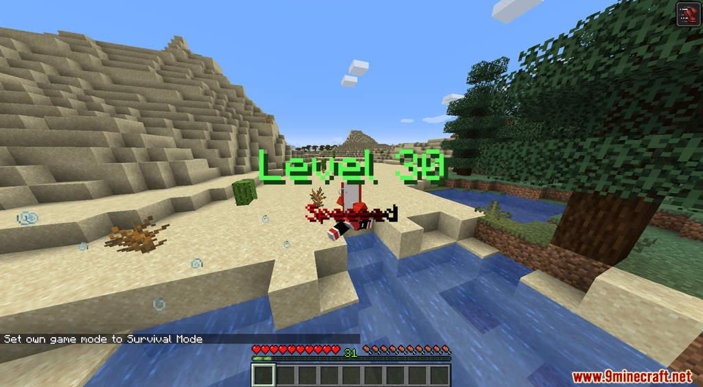 Minecraft But XP Equals Speed Data Pack Screenshots (6)