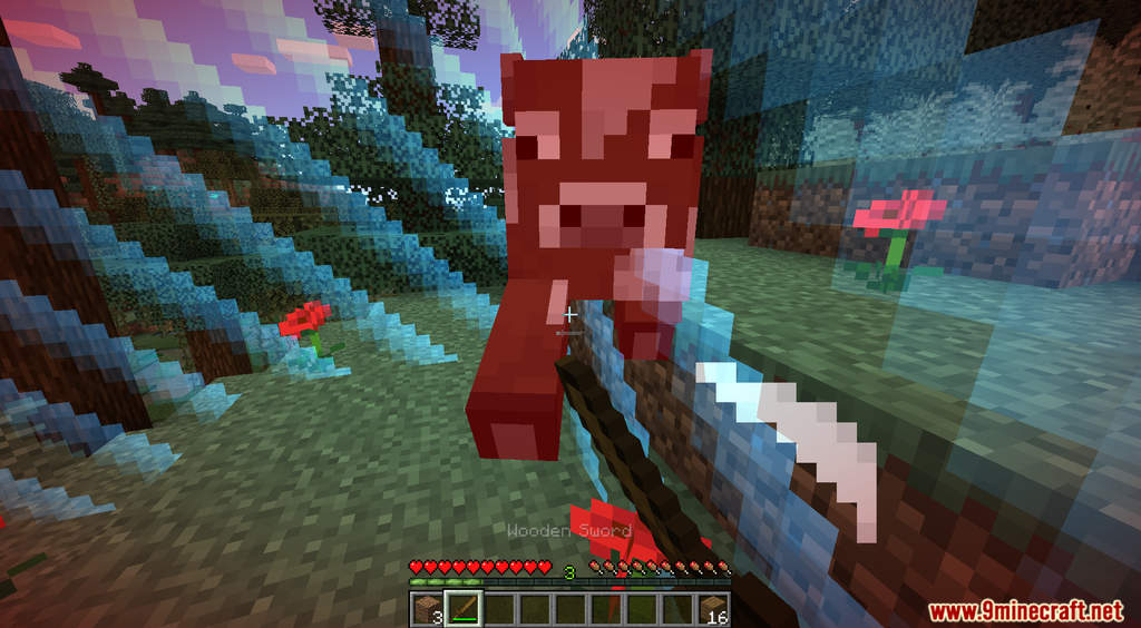 Minecraft But You Gain Exp Your World Gets Bigger Data Pack Screenshots (4)