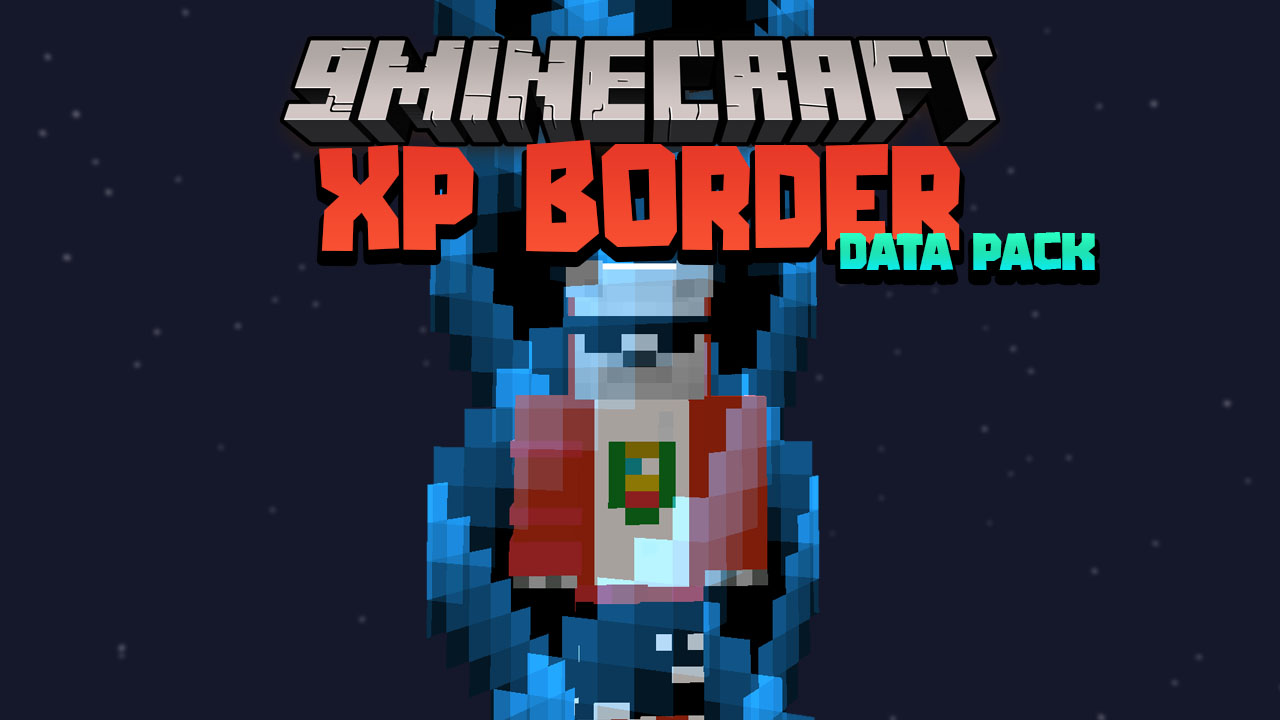 Minecraft But You Gain Exp Your World Gets Bigger Data Pack Thumbnail