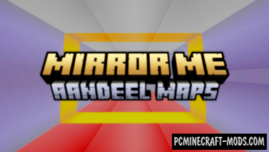 mirror me map for minecraft