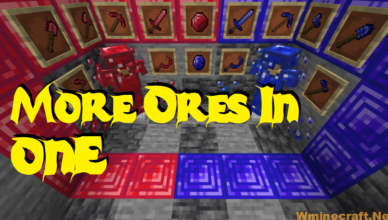 more ores in one mod 1 17 1 1 16 5 new tools and armor
