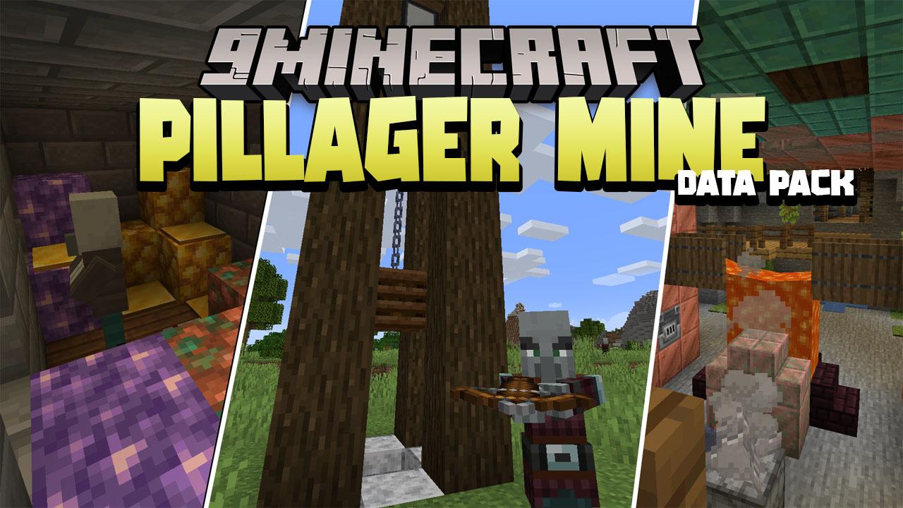 Pillager Mine Data Pack Thumbnail