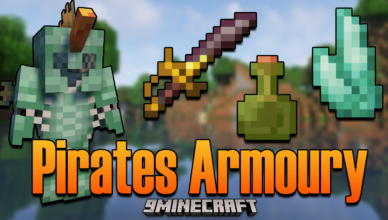 pirates armoury mod 1 16 5 armor and tools for pirate