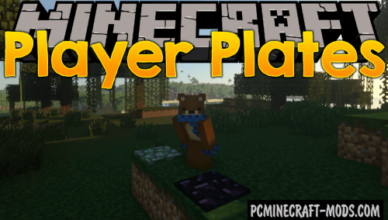 player plates new blocks mod for minecraft 1 17 1 1 16 5 1 15 2