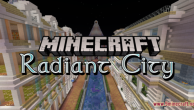radiant city map 1 17 1 for minecraft