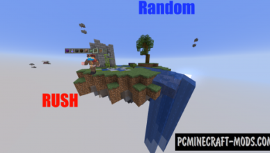 random rush team map for minecraft