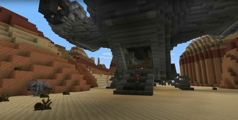 Skilled Gamer Creates Entire Star Wars Galaxy in Minecraft - 2