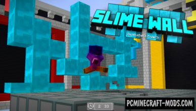 slime walls map for minecraft