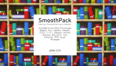 smoothpack resource pack 1 17 1 1 16 5 make your text smoother