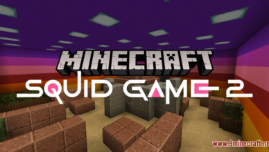 squid game 2 map 1 17 1 for minecraft
