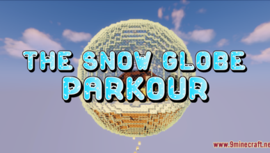 the snow globe parkour map 1 17 1 for minecraft