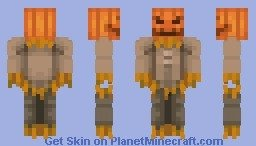 Skin Minecraft d'un épouvantail