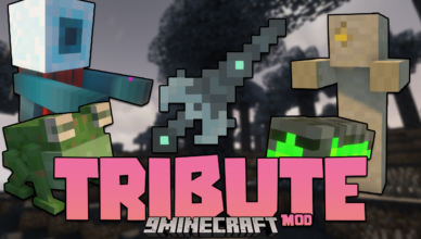 tribute mod 1 16 5 new weapons and tools added into the game